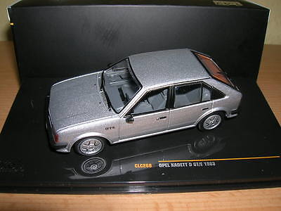 Ixo Opel Kadett D Gt / E Year 1983 Silver 1:43 Article Clc268, used for sale  Shipping to United States