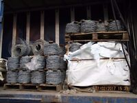 New 200m Double strand BARBED WIRE £15.00 + Vat £18.00 Per Roll 150 Rolls available