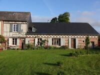 France - Traditional house for sale in Normandy with large garden, 10 mins from the sea