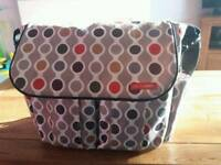 Baby changing bag like knew.