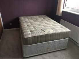 Double Bed (Rest Assured) with Sleepeezee Mattress