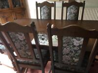 "Dining room table ""Old Charm"""