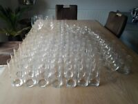 Large Assortment of Drinking Glasses