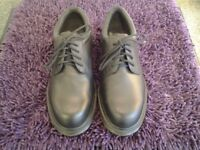 Dr. Martens Industrial Black Safety Shoes with Steel Toe Cap-In As New Condition-Size UK9