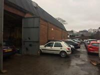 Car Body shop and mechanic garage for sale in handsworth