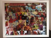 Deadpool Handmade Framed Print - 15x12 Inch