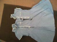 Gingham school dresses
