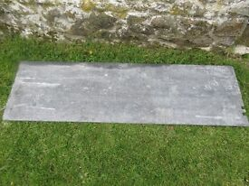 2x old Welsh Slate Slabs: Suitable for work tops in Kitchen or Bathroom