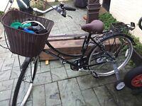 Ladies bicycle as new hardly used