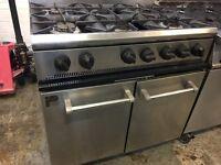 Parry P6BO Gas 6 Burner Range Cooker