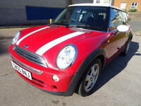 2005 05 MINI HATCH COOPER 1.6 COOPER 3d 114 BHP SERVICE RECORD+ MOT JANUARY 2019+ AIR CONDITIONING +