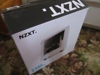 NZXT Source 340 White Gaming PC Case with Side Window