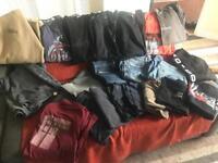 Designer clothes bundle - jeans, t shirts and jackets for sale