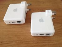 2 x Apple AirPort Express A1264 wifi routers