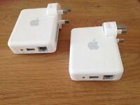 2 x Apple AirPort Express A1264