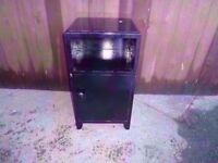 Bedside Table black Unit Delivery Available £5
