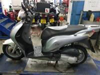 HONDA ps 125cc silver