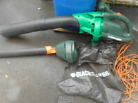 Black and Decker vacuum/ Blower