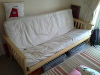 Sofa bed very little used In very good condition