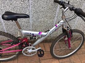 Girls cycle bike