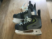 No Fear ice hockey skates size 10