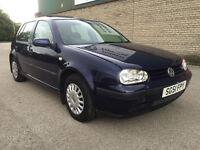 Volkswagen Golf 1.4 S 5dr (S/HISTORY) (SUNROOF) 2001
