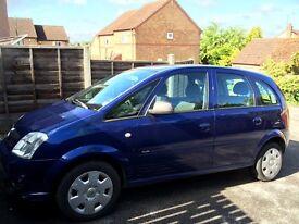Vauxhall Meriva,11 months MOT,non runner for sale!!!