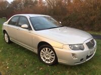 ROVER 75 1.8 CLASSIC 55 REG IN GREY WITH BLACK LEATHER, ONLY 60300 MILES , FULL DOCUMENTED HISTORY