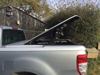 Ford Ranger hard top. Lovely condition in silver two years old all fixings and two keys