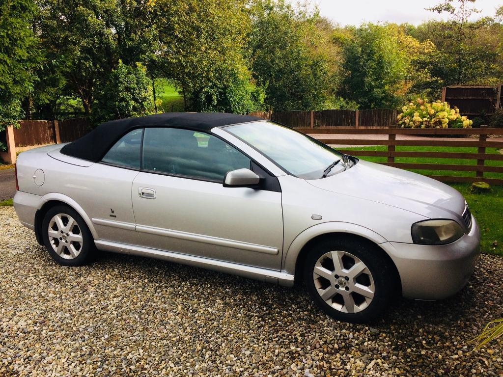 Vauxhall Astra convertible 1.6