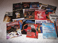 Song books chord books blues harp 20 books in total