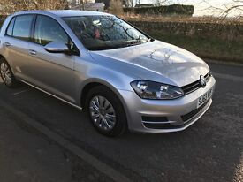 VW GOLF TDI VERY LOW MILES ONLY 18000