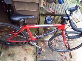 Islabike luath 24 with spare slick tyres
