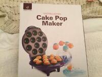 New Cake pop maker £4