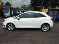 SEAT IBIZA 1.2 TSI FR SportCoupe 3dr (white) 2012