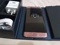 Samsung Galaxy S7 edge SM-G930F – 32GB – Rose Gold (Unlocked) Ref#PF82