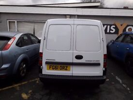 WHITE VAUXHALL COMBO FOR SALE IN EXCELLENT CONDITION 89K MILES. MOTd till January
