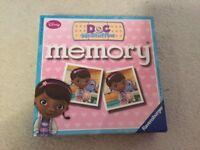 Disney Doc McStuffins Memory Game
