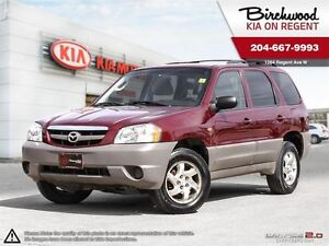 2003 Mazda Tribute DX *SAFTIED 4X4 LOW KMS GREAT PRICE*