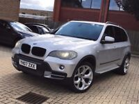 2007 BMW X5 3.0 DIESEL AUTOMATIC, NEW SHAPE ONLY £7495 NO OFFERS!! HPI CLEAR , 4X4, Q5 Q7 ML 350 X6