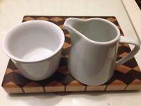 Set of Sugar Bowl & Milk Jug from £1 /set.