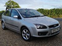 Ford Focus 1.6 Zetec Climate 5dr Silver ** FULL 12 MONTH MOT / EXCEPTIONALLY CLEAN & TIDY **