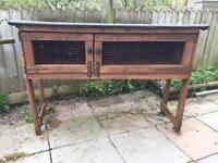 SOLD!!! Rabbit hutch (very well made)