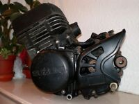 Suzuki TS125 engine I.O.M TT Paddock bike motor