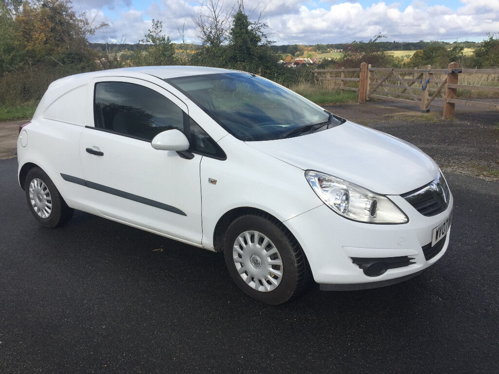 1 OWNER VAUXHALL CORSAVAN 1.3 CDTI - DIRECT FROM BT WITH FULL SERVICE HISTORY - EXCELLENT CONDITION