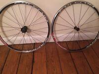 Road bike wheels. Brand New. Fulcrum Racing 77. Totally unused.
