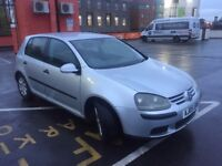 2005 Volkswagen Golf auto silver 5 door 1.6