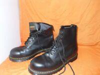 doctor martins black boots
