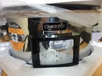 Crock Pot Original Steam Cooker 5.7L - Digital Slow Cooker- CSC012