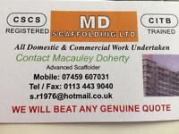 MD scaffolding (West Yorkshire)